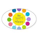 Be Sport Happy Sticker