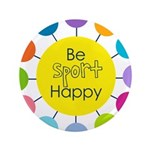 Be Sport Happy Button