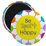 Be Sport Happy Magnets