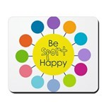 Be Sport Happy Mousepad