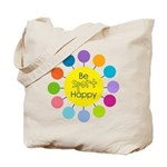 Be Sport Happy Tote Bag
