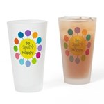 Be Sport Happy Drinking Glass