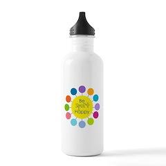 Be Sport Happy Water Bottle