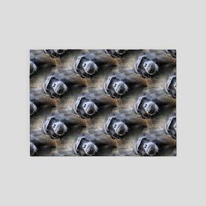 Chimpanzee 5'x7'Area Rug