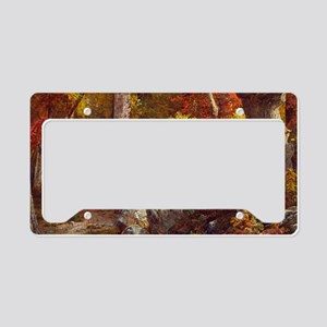 October by William Trost Richards License Plate Ho