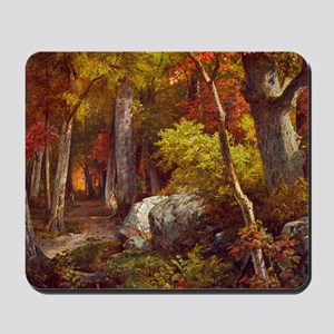 October by William Trost Richards Mousepad