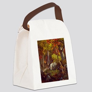 October by William Trost Richards Canvas Lunch Bag