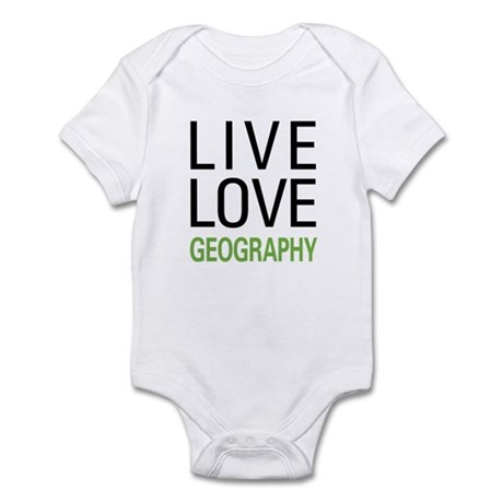 Live Love Geography Infant Bodysuit