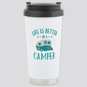 Life's Better Camper Stainless Steel Travel Mug