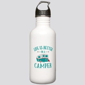 Life's Better Camper Stainless Water Bottle 1.0L