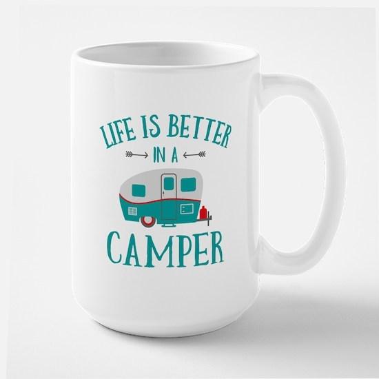 Life's Better Camper Large Mug