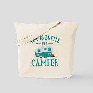 Life's Better Camper Tote Bag