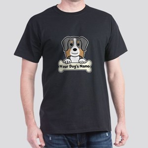 Personalized Australian Shepherd Dark T-Shirt