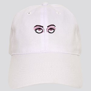 Eye Roll (Pink) Baseball Cap