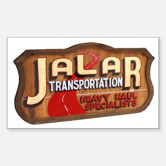 Jalar Transportation Rectangle Decal