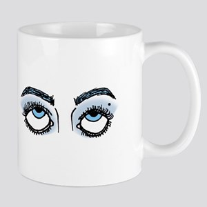 Eye Roll (Blue) Mugs