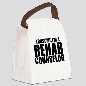 Trust Me, I'm A Rehab Counselor Canvas Lunch B