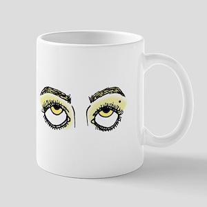Eye Roll (Yellow) Mugs