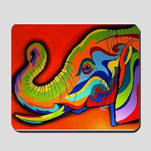 Colorful Elephant Mousepad