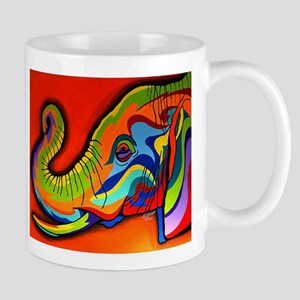 Colorful Elephant Mugs