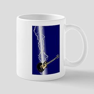 Lightning Guitar Mugs