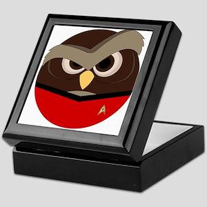 Redshirt Owl Keepsake Box