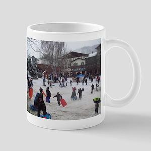 Village Christmas Mugs