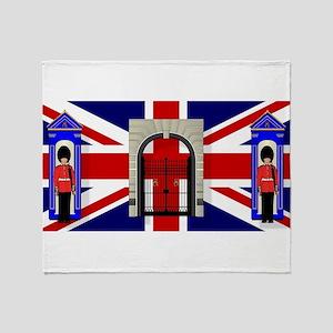 London Icons Throw Blanket