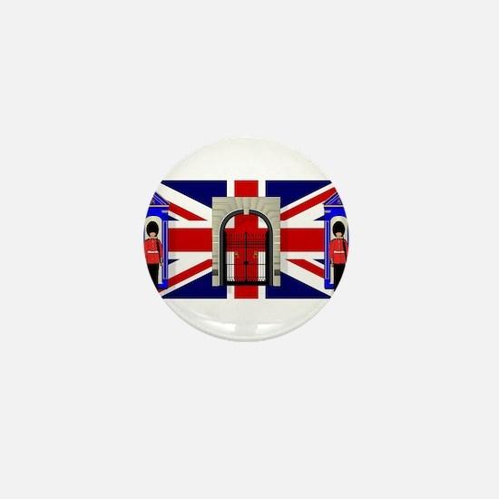 London Icons Mini Button