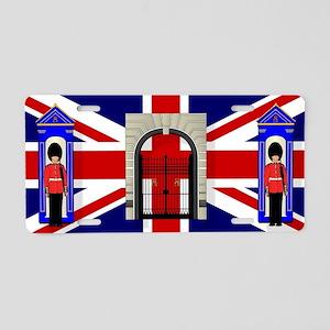 London Icons Aluminum License Plate