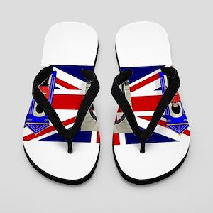 London Icons Flip Flops