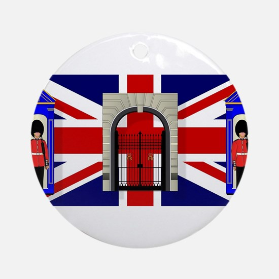 London Icons Round Ornament