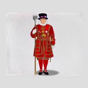 Beefeater Throw Blanket