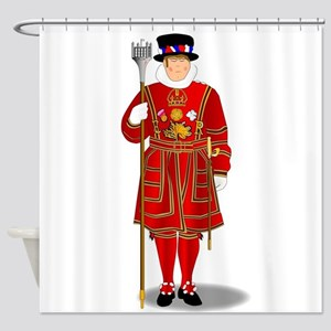 Beefeater Shower Curtain