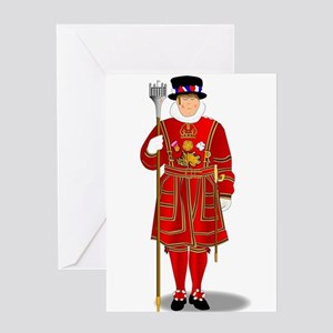 Beefeater Greeting Cards
