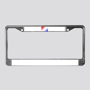 London Eye with colorful backg License Plate Frame