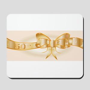 50th Golden Ribbon Mousepad