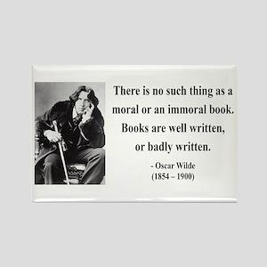Oscar Wilde 24 Rectangle Magnet