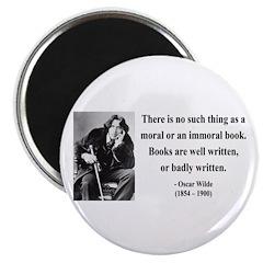 Oscar Wilde 24 Magnet
