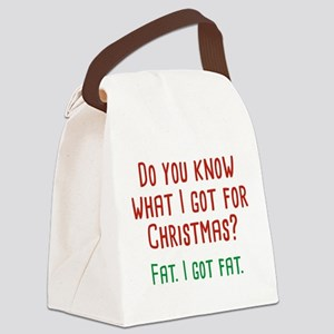 I Got Fat Canvas Lunch Bag