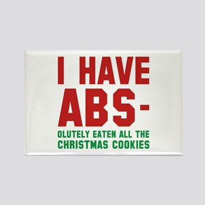 I Have Abs Rectangle Magnet