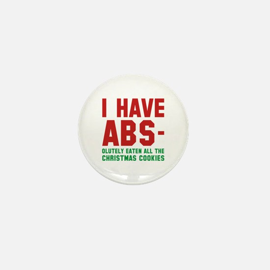 I Have Abs Mini Button