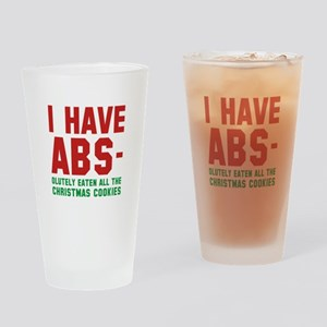 I Have Abs Drinking Glass
