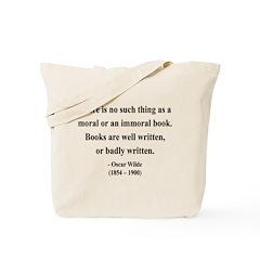 Oscar Wilde 24 Tote Bag