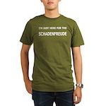 Schadenfreude Funny Organic Men's T-Shirt (dark)