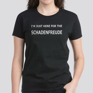 Schadenfreude Funny Women's Dark T-Shirt