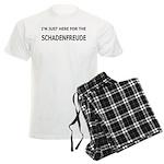 Schadenfreude Funny Men's Light Pajamas