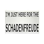 Schadenfreude Funny Rectangle Magnet (10 pack)