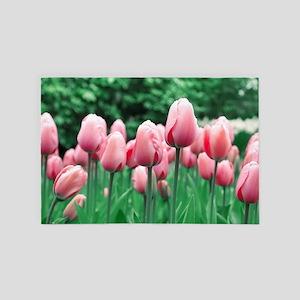 Spring Tulips 4' x 6' Rug
