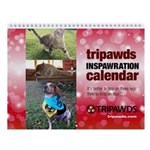 Tripawds Wall Calendar #21 - New For 2017